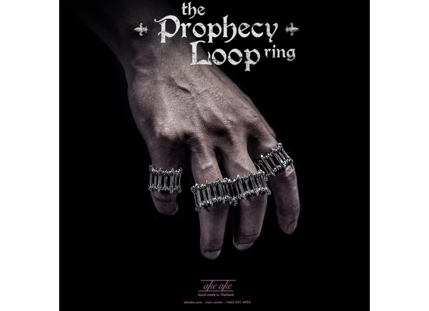 The Prophecy Loop Ring