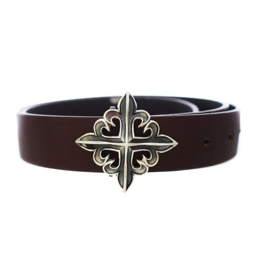 The Deadly Weapons Spikes Belt Buckle - for 32mm belt