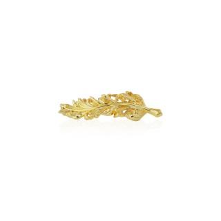 Raven brooch - 24 Karat Gold