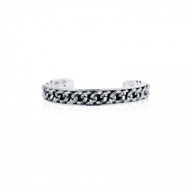 Chaine-de-lis Classic bangle