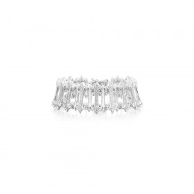 Prophecy Xtreme Bracelet - Half Setting - White Rhodium