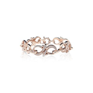The Amaranthine Chain Bracelet - Oversized Xtreme - Pure Pink