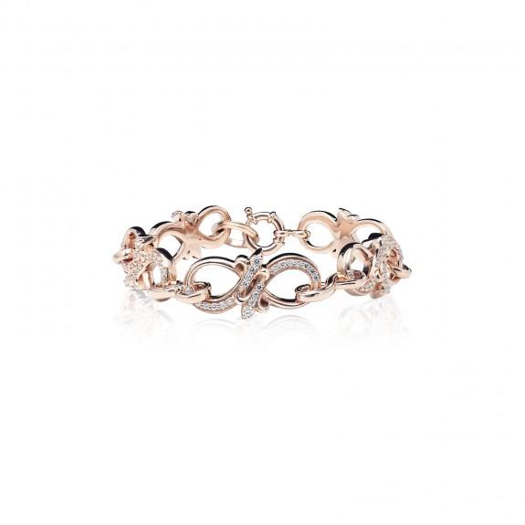 The Amaranthine Chain Bracelet - Oversized Xtreme - Pure Pink