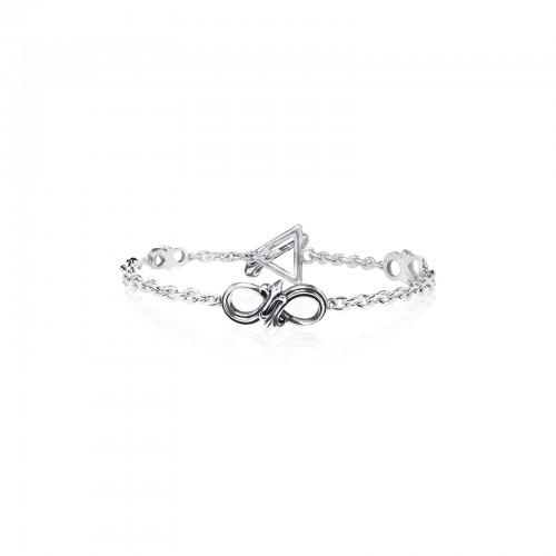 The Amaranthine Chain Bracelet -