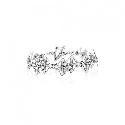 The Rituals Twin Crosses Bracelet