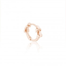 Butterfly Huggie Earring Pure Pink Rose Gold Online Exclusive -