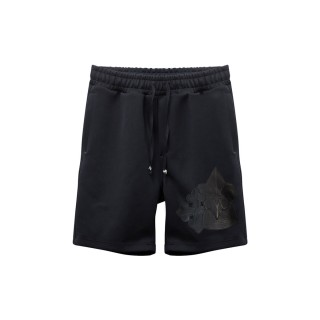 Trio Motiffs Patchwork Shorts -