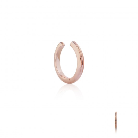 "Basic A La Carte Huggie ""Cuff"" - GM - Pure Pink"
