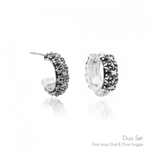 Athena's Spears Earrings 'Duo Set' - Online Exclusive