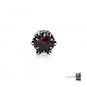 Crown of Zeus Earring Stud - Orange -
