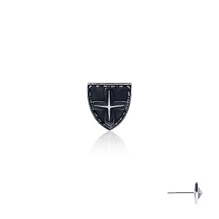 The Royal Shield Earring Stud -