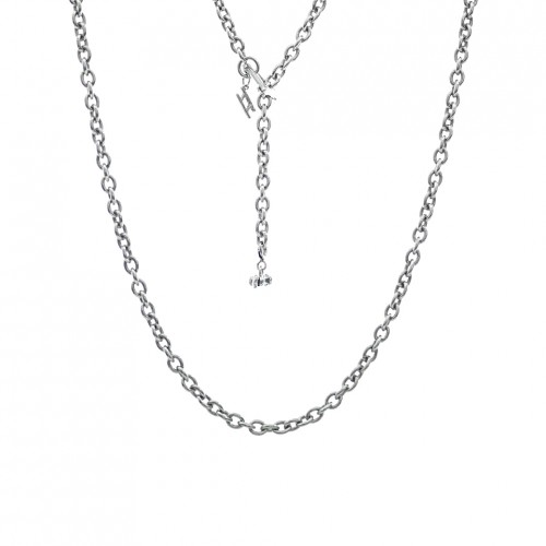 ake ake Chain Necklace - Silver
