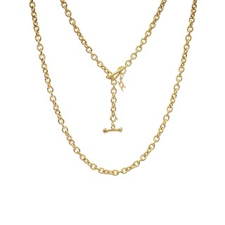 ake ake Chain Necklace - 24 Karat Gold