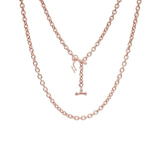 ake ake Chain Necklace - Pure Pink Rose Gold