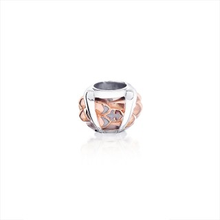 The Gorgon Fang Scale Bead - Pure Pink -