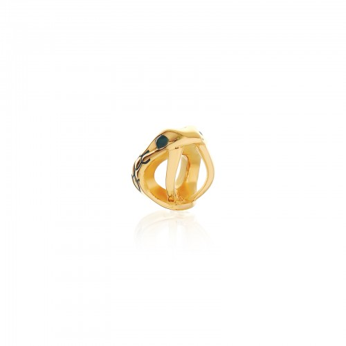 The Gorgon Fangs Bead - 24 Karat Gold