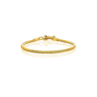 Prayer Silver Bracelet - 24 Karat Gold