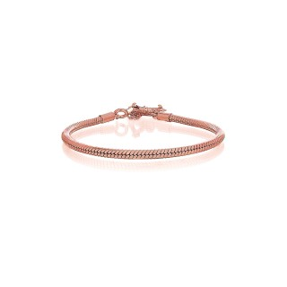 Prayer Silver Bracelet - Pure Pink