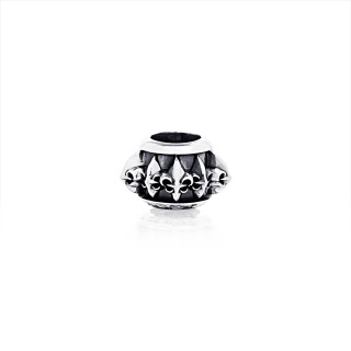 The Multi Fierce-de-lis Ring Bead -