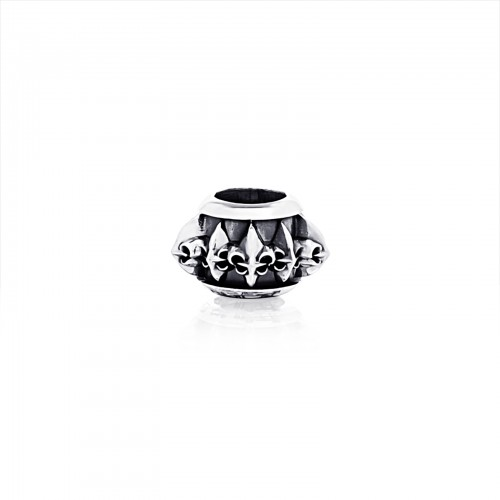 The Multi Fierce-de-lis Ring Bead