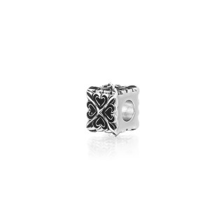 The Deadly Cross Cube Bead -