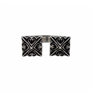 The Deadly Weapons Ring - Double Spikes -