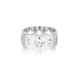 The Fierce-de-lis Monogram ring