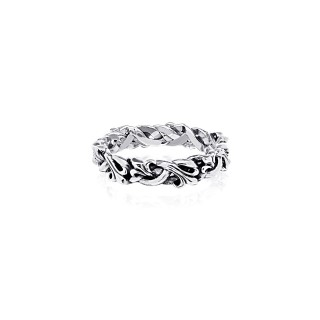 The Fierce-de-lis Braided ring