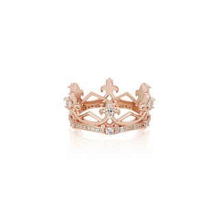 The Aphrodite Crown Ring Extreme - Pure Pink