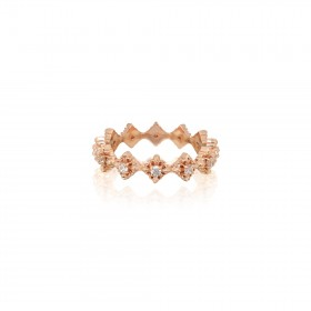 The Rituals Micro Cross Ring Extreme - Pure Pink