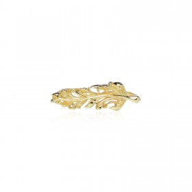 Raven Twin ring - 24 Karat Gold