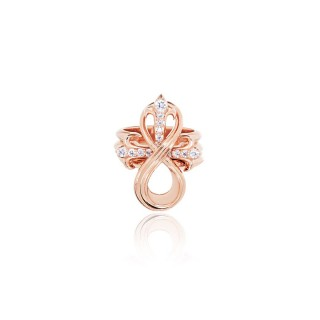 """The Amaranthine Cross """"Puzzle"""" ring Xtreme - Pure Pink -"""