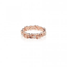 Fierce-de-lis Braided 2.0 Xtreme ring - Pure Pink