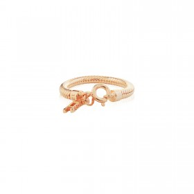 Prayer Silver Ring - Pure Pink -