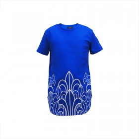 Prophecy Longline Tee - Royal Blue