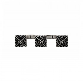 The Deadly Weapons Ring - Triple Spikes