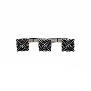 The Deadly Weapons Ring - Triple Spikes -