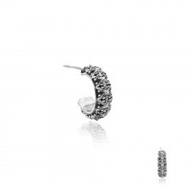 Athena's Spears Loop Stud Earring