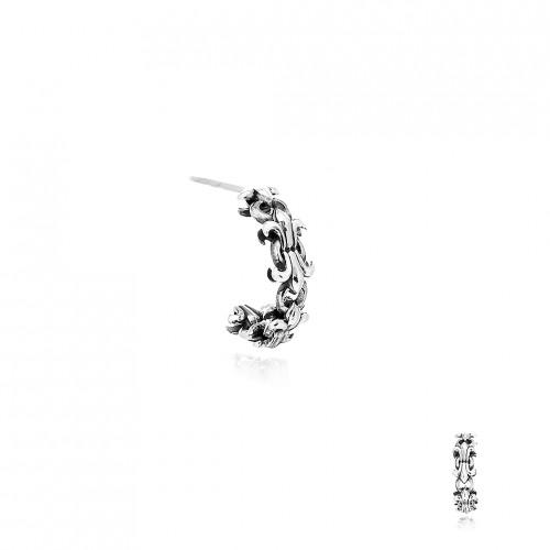 The Fierce Chain Loop Stud Earring -
