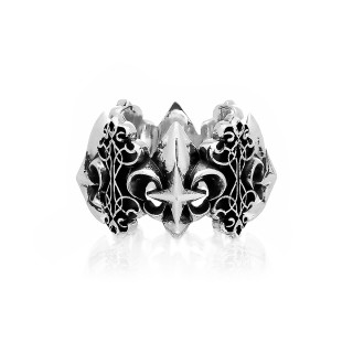The Fierce de Lis Stack Ring