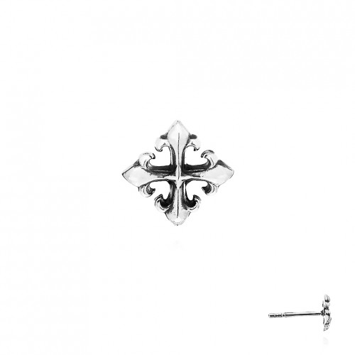 The Rituals Cross Stud Earring
