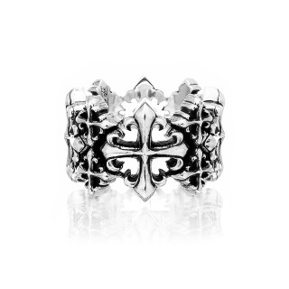 The Rituals Cross Oversized Ring 2.0 Extra Large Size -
