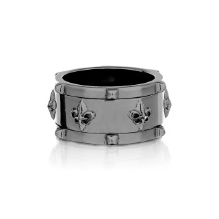 The Apollo Guardians Spinner Ring - Graphite