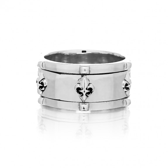 The Apollo Guardians Spinner Ring - Silver
