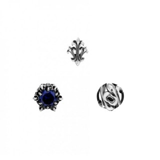 The Trinity Earrings Set - Poseidon