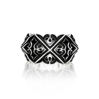 The Deadly Multi-Spikes Ring -